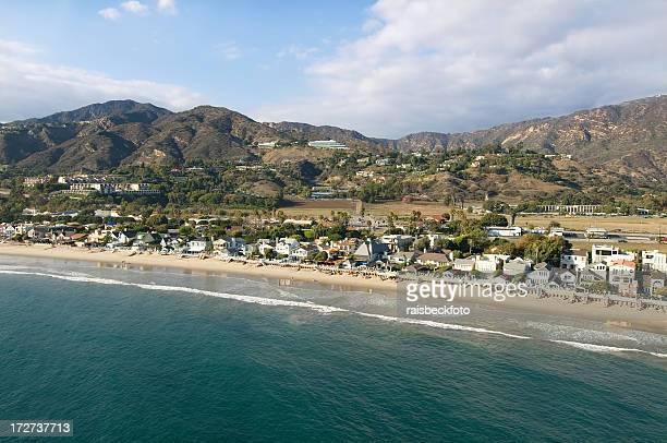Côte Pacifique à Malibu, en Californie