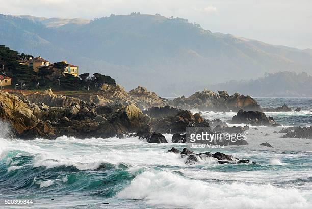 Pacific Coastline along Monterey Peninsula, California