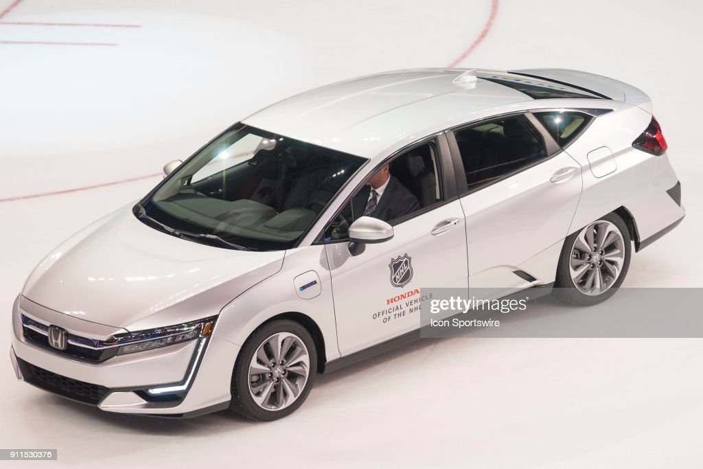 Pacific Division Forward Brock Boesser 6 Is Given A New Honda As The MVP