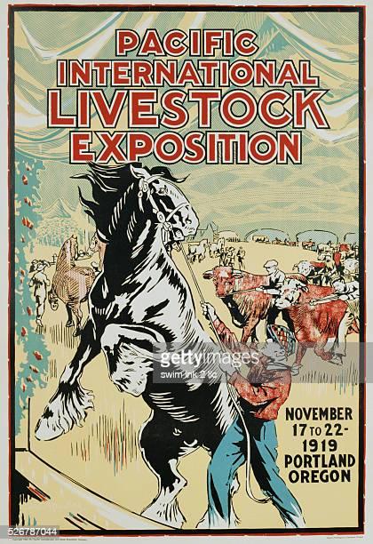 Pacific International Livestock Exposition Poster