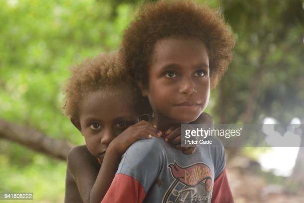 Pacific island children