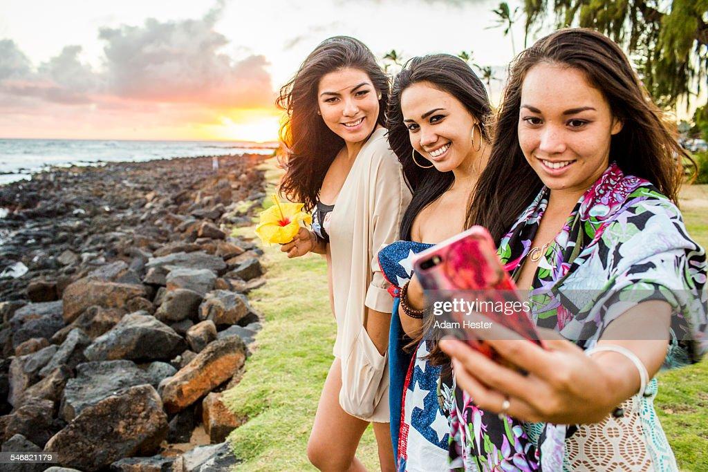 Pacific islander women