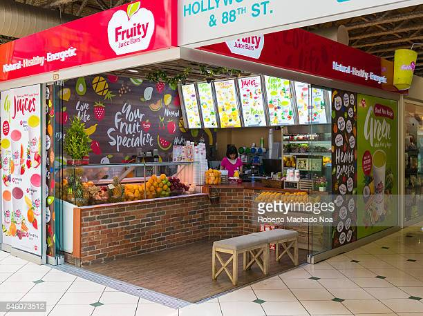 Pacific Mall interior design Fresh fruit smoothie place Pacific Mall is an Asian shopping centre in Markham Ontario