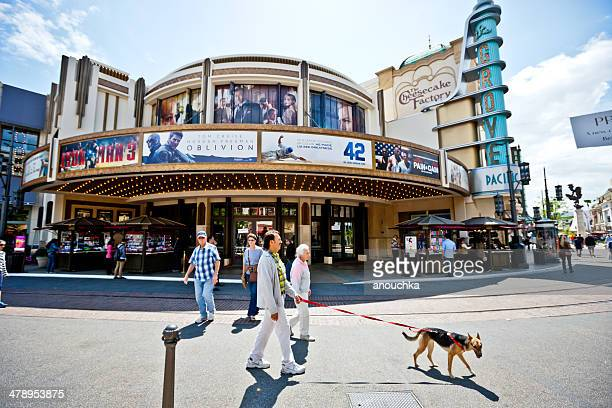 pacific movie theater at the grove, los angeles - the grove los angeles stock pictures, royalty-free photos & images