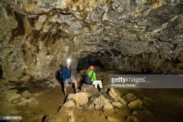 Pacific Northwest, Oregon, Central Oregon, Bend, Deschutes, National Forest, Skeleton cave.