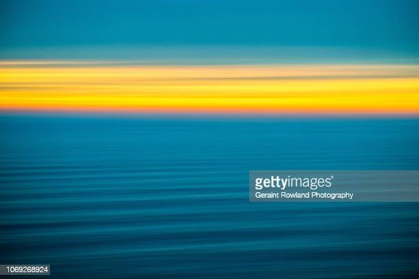 pacific ocean art - screen saver stock photos and pictures
