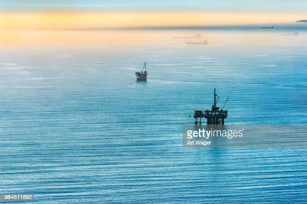 Pacific Offshore Oil Platforms