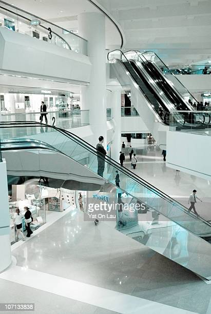 Pacific Place shopping center located in Admiralty, Hong Kong.