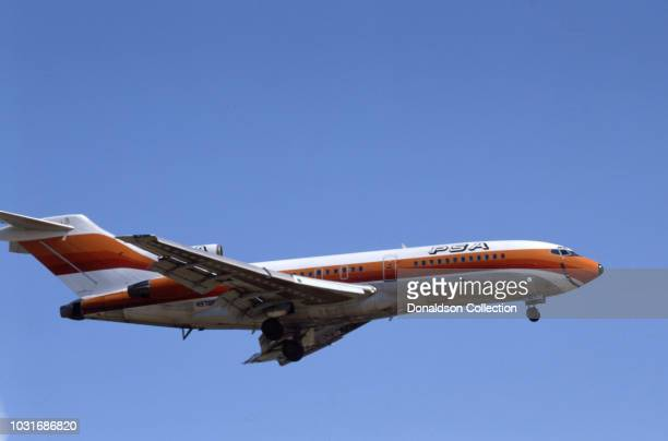 A Pacific Southwest Airlines Jet
