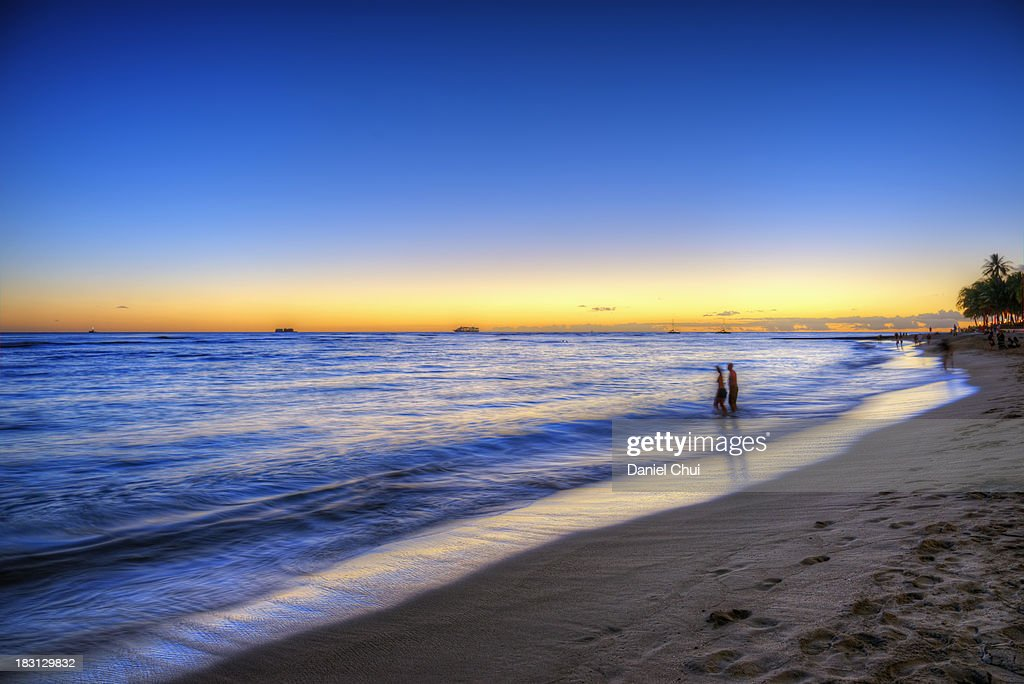 Pacific Twilight : Stock Photo