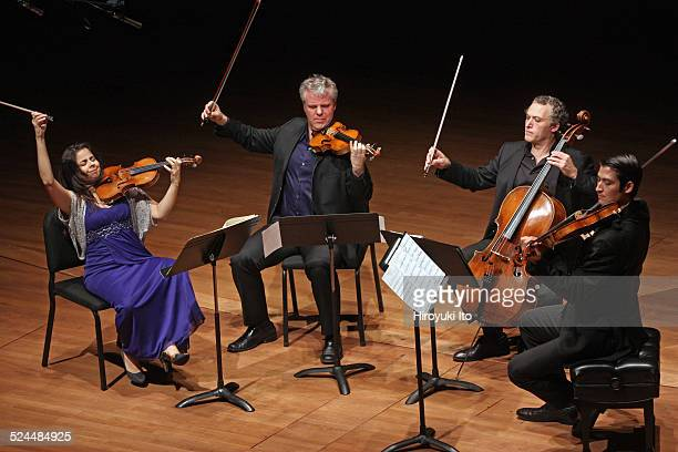 Pacifica Quartet performing the music of Haydn Puccini Mendelssohn and Shulamit Ran at Alice Tully Hall on Friday night November 7 2014This imageFrom...
