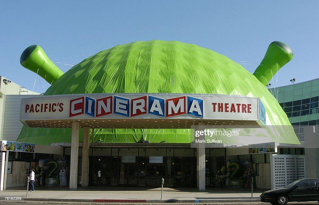 Pacific's Cinerama Dome Theatre covered for
