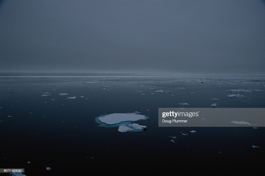 Pack Ice on Arctic Ocean : Stock Photo