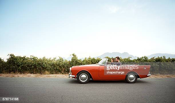 pack the car, the road awaits - convertible stock pictures, royalty-free photos & images