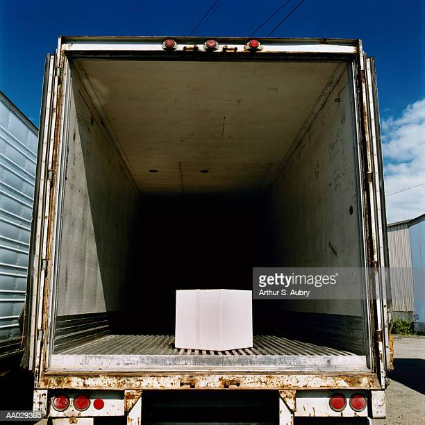 Package in back of truck