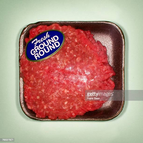 packaged ground beef - ground beef stock pictures, royalty-free photos & images