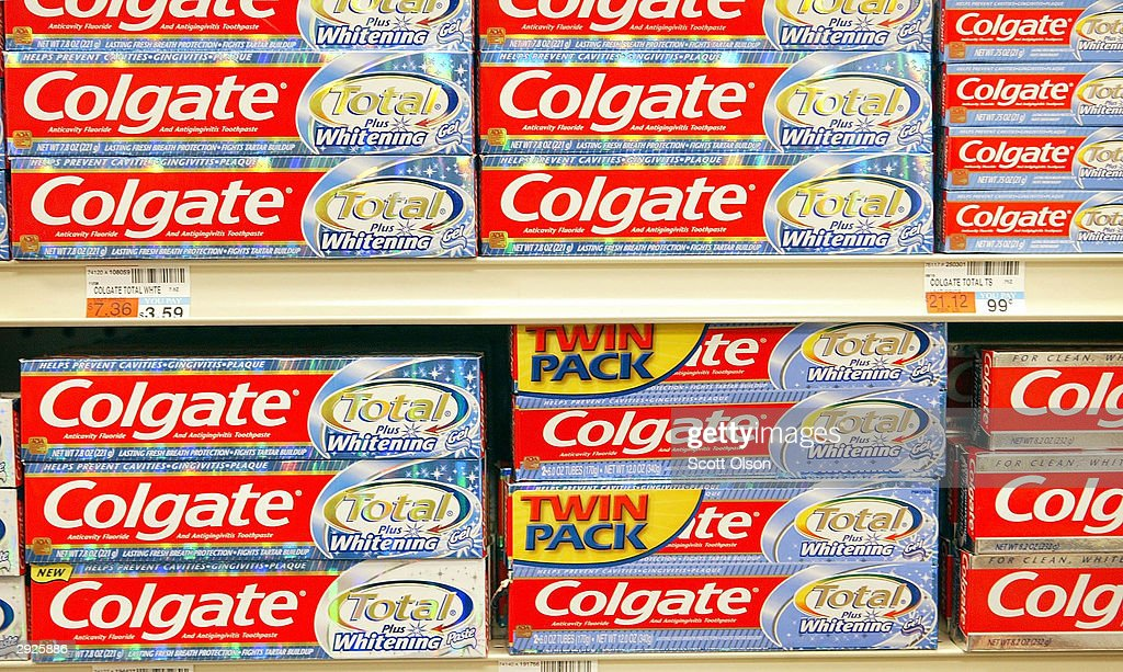Colgate Profits Are Up 9 Percent : News Photo