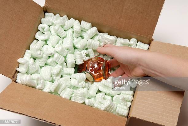 Packaging a fragile item