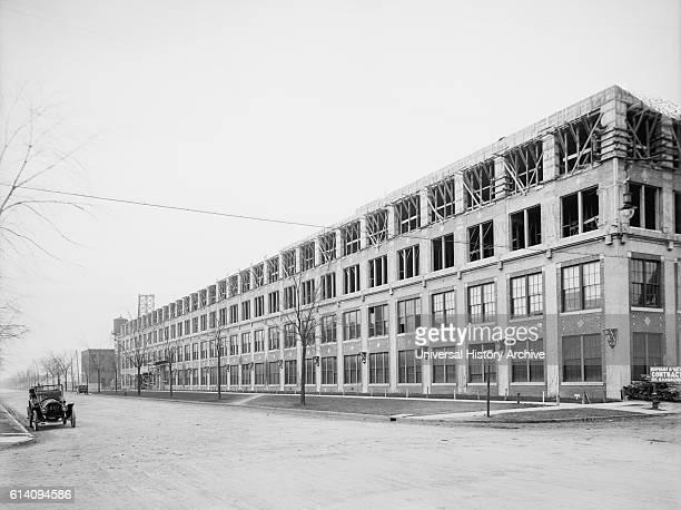 Packard Motor Car Company Auto Plant Detroit Michigan USA circa 1910