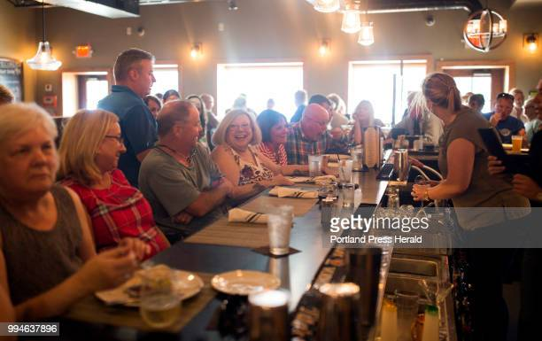A packed bar at The Central Restaurant Bar in York on the Tuesday night before Fourth of July The restaurant run by a husband and wife team has been...