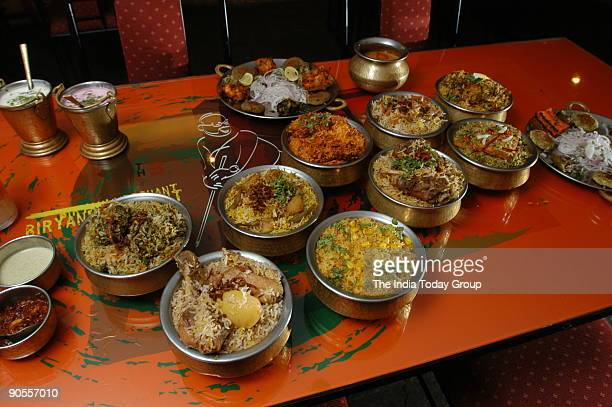 Packed food Biryani Merchant at Castle Road in Bangalore Karnataka India
