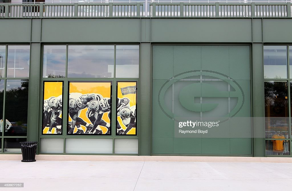 New Packers Pro Shop at Lambeau Field, home of the Green Bay Packers