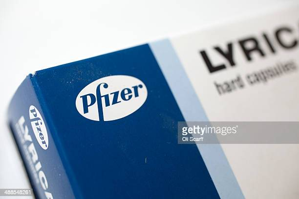 A packet of prescription drugs made by the pharmaceutical firm Pfizer on May 7 2014 in Cambridge England The proposed takeover by American...