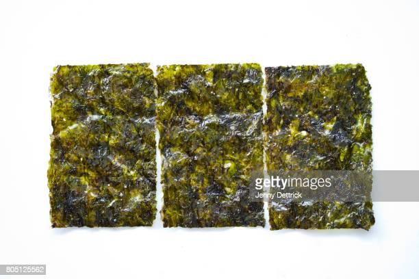 packet of roasted seaweed - 海苔 ストックフォトと画像