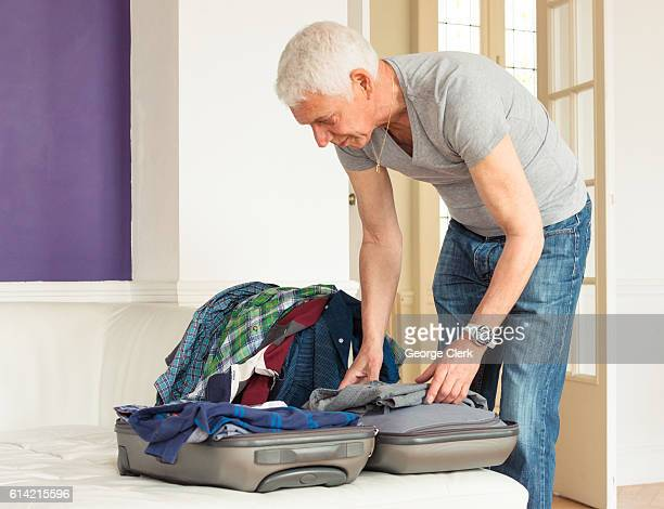 Packing a bag for vacation