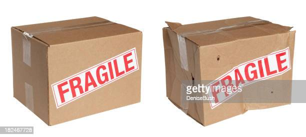 Packing Boxes Before and After