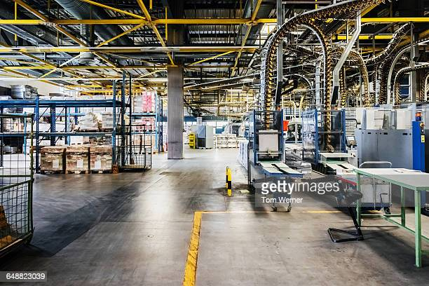 packing line in a printery - plant stock pictures, royalty-free photos & images