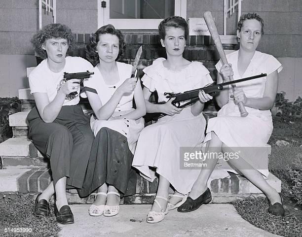 Packing Mamas Round Up Marauders. Viers Mill Village, MD. : Pistol-packing mamas of Viers Mill Village, Washington D.C., suburb, terrorized by night...