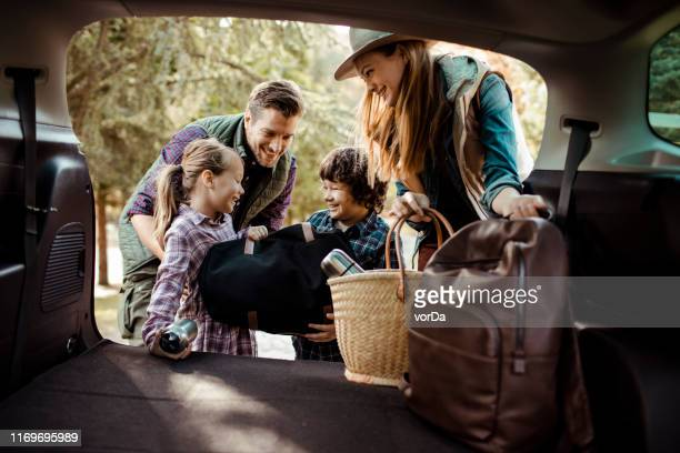 packing - road trip stock pictures, royalty-free photos & images