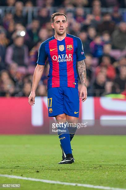 Paco Alcacer during the match between FC Barcelona Borussia Monchengladbach for the matchday 6 of the Champions League played at Camp Nou Stadium on...