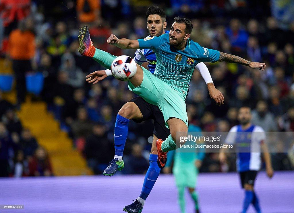 Hercules CF v FC Barcelona - Copa del Rey