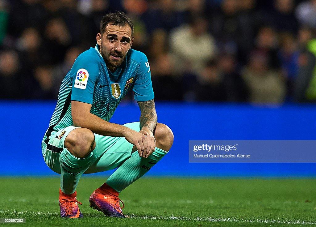 Hercules CF v FC Barcelona - Copa del Rey : News Photo