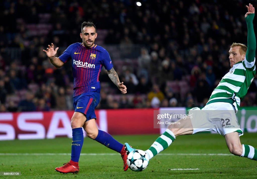 FC Barcelona v Sporting CP - UEFA Champions League : News Photo