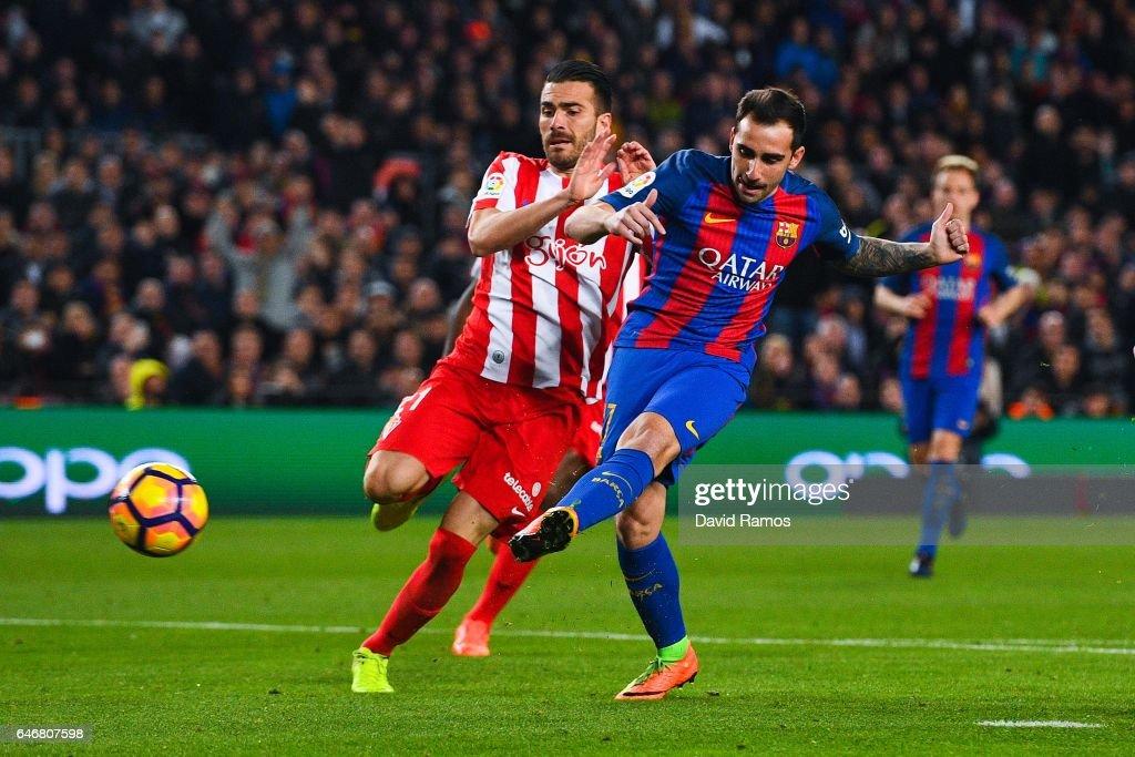FC Barcelona v Real Sporting de Gijon - La Liga