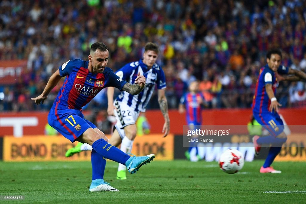Deportivo Alaves vs Barcelona - Copa Del Rey Final