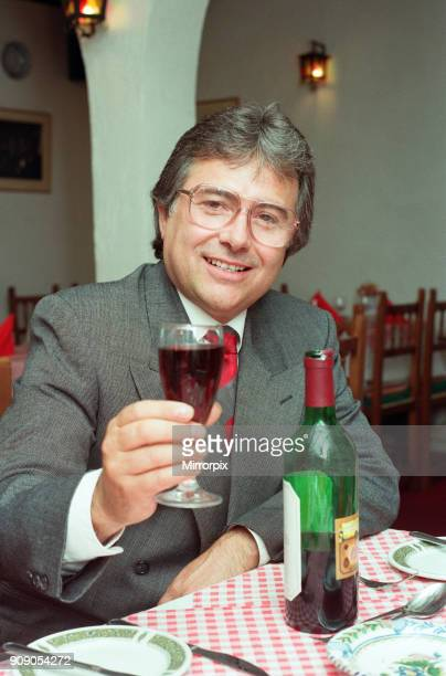 Paco Bueno owner of the Casa Paco Spanish restaurant Fletchers Walk Birmingham is pictured at the restaurant 26th September 1990