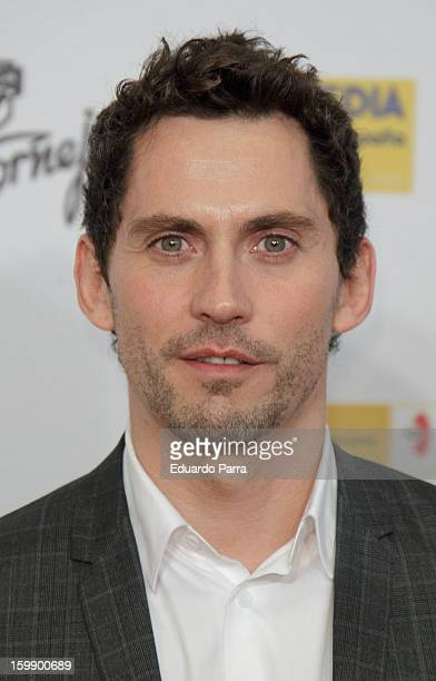Paco LEon attends Jose Maria Forque awards photocall at Canal theatre on January 22 2013 in Madrid Spain