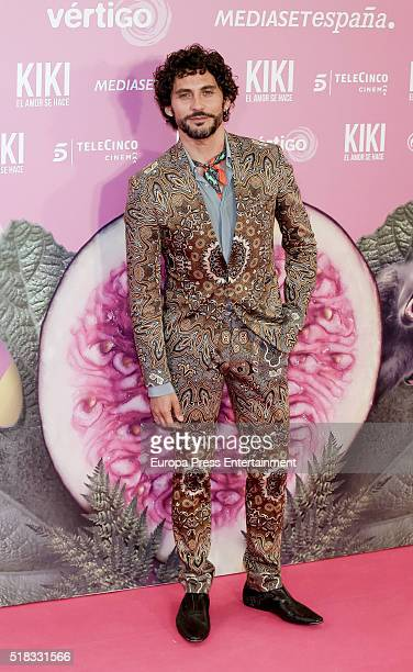 Paco Leon attends 'Kiki el amor se hace' premiere at Capitol cinema on March 30 2016 in Madrid Spain