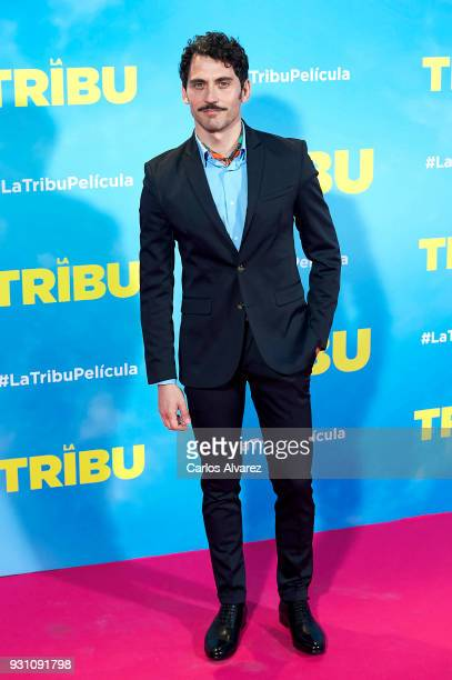 Paco Leon attends 'La Tribu' premiere at the Capitol cinema on March 12 2018 in Madrid Spain