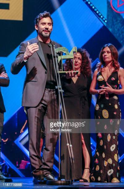 Paco Leon attends the 66th Ondas Awards 2019 Gala held at the Gran Teatre Liceu on November 14 2019 in Barcelona Spain