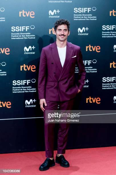 Paco Leon attends the 'High Life' premiere during the 66th San Sebastian International Film Festival on September 27 2018 in San Sebastian Spain