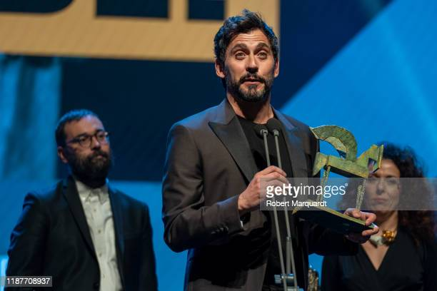 Paco Leon attends the Onda Awards 2019 Gala held at the Teatre Liceu on November 14 2019 in Barcelona Spain
