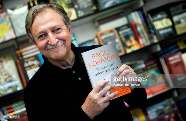 Paco Lobaton attends during the book fair in Madrid on May 26 2018 in Madrid Spain