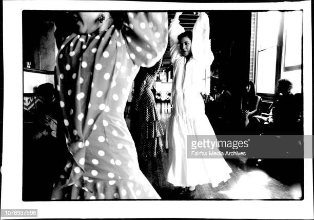 Paco PenaSpanish Flamenco Guitarist in Sydney to perform with his Flamenco Dance Company June 27 1994
