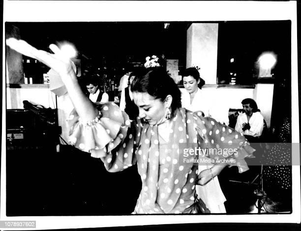 Paco PenaSpanish Flamenco Guitarist in Sydney to perform with his Flamenco Dance Company Belen Fernandez June 27 1994