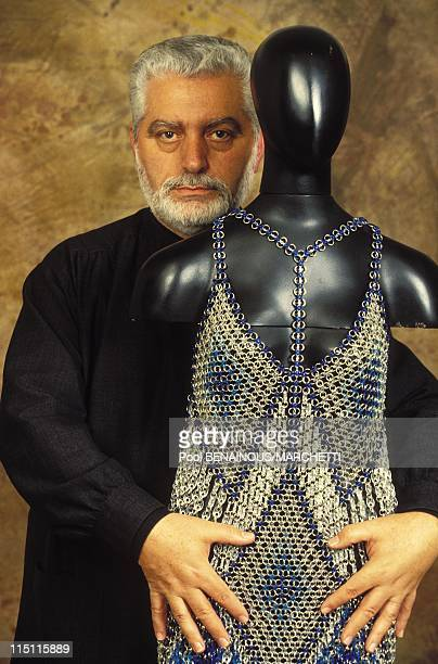 Paco Rabanne celebrates his 30 years of creating and selling his professional collection in France in May 1994
